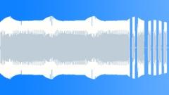Synthesizer äänimerkki basso d Arkistomusiikki