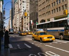 New York Fifth Avenue Time-lapse Cars Pedestrians Traffic – PAL Stock Footage