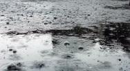 Stock Video Footage of Rainin'