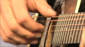 musician playing guitar, close-up HD Footage