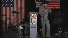 Mark Meckler - Tea Party Patriots - Speech in Iowa -  November 2010 Stock Footage