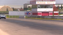motorsports, Chumpcar race, #38 front straight long shot - stock footage