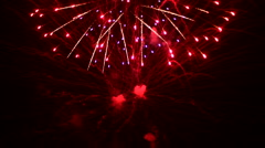 Grandiose fireworks Stock Footage