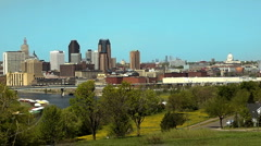 St Paul MN Wide Stock Footage
