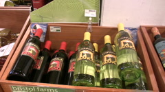 Wine Arbor Display (short) Stock Footage