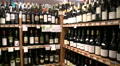 Wine Arbor in Boutique Grocery Market HD Footage