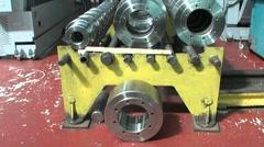 Metalworking Stock Footage
