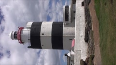 Hook Lighthouse B Stock Footage