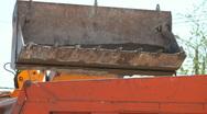 Bulldozer Scoop Stock Footage