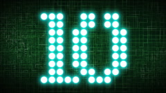 Countdown v3 Stock Footage