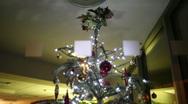 Christmas lights 030 HD1080P Stock Footage