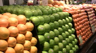 Fresh Fruit and Produce Stock Footage