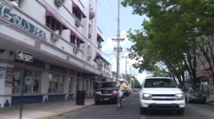 Drive Through Key West Florida - stock footage