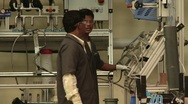 Stock Video Footage of Factory interior