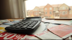 Savings calculation Stock Footage