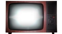 TV - stock footage