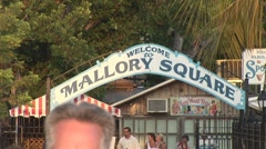WelcomeMallorySquare Stock Footage