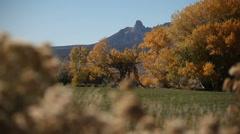 Colorado Autumn 787 29.97p Stock Footage