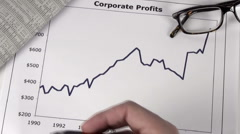 Corporate profits - HD Stock Footage