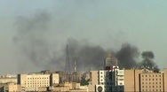 Moscow burns Stock Footage