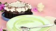 Stock Video Footage of Serving A Cake Slice
