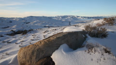 Central Idaho Winter 1382 29.97p Stock Footage