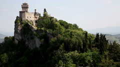 Republic of San Marino, City of San Marino, Cesta Stock Footage