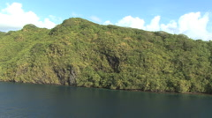 Huahine view 6 Stock Footage