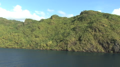 Huahine view 7 Stock Footage