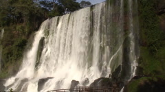 Iguassu Falls - stock footage