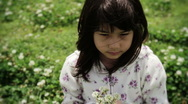 Japanese Child Playing Stock Footage
