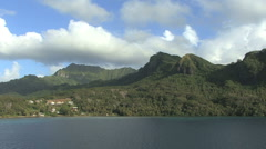 Huahine view 14 Stock Footage