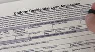 Loan application - HD Stock Footage