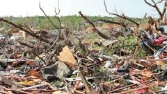 Tornado Destruction (HD) co Stock Footage