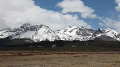 Sawtooth Snow 3290 Stock Footage