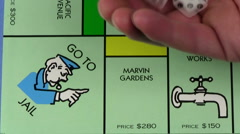 Monopoly GO TO JAIL V2 - HD Stock Footage