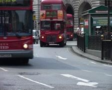 Traffic in London GFSD - stock footage