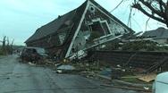 Joplin Tornado Destruction 07.MP4 Stock Footage