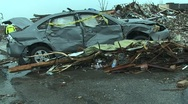 Stock Video Footage of Joplin Tornado Destruction 08.MP4