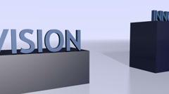 Success Key Words - HD1080 Loop Stock Footage