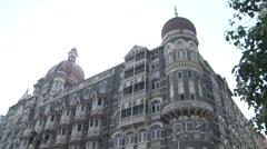 Taj Mahal Palace & Tower Hotel Stock Footage