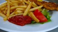 Stock Video Footage of Schnitzel