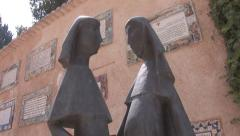 Mary and Elizabeth Stock Footage