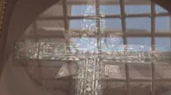 Cross 3 Stock Footage