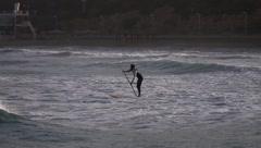 oarsman - stock footage