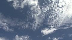 Moorea timelapse clouds 78 Stock Footage