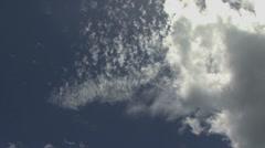 Moorea timelapse clouds 7 Stock Footage