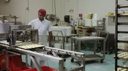 Stock Video Footage of Commercial Bakery 2K