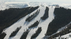 Winter Ski Resort 4921 Stock Footage