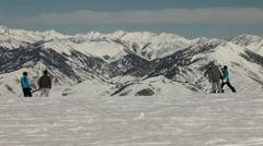 Winter Ski Resort 4924a Stock Footage